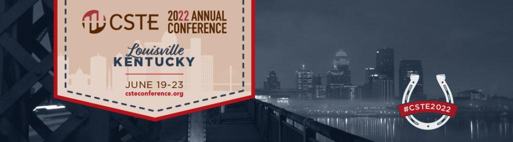 2022 CSTE Conference Banner